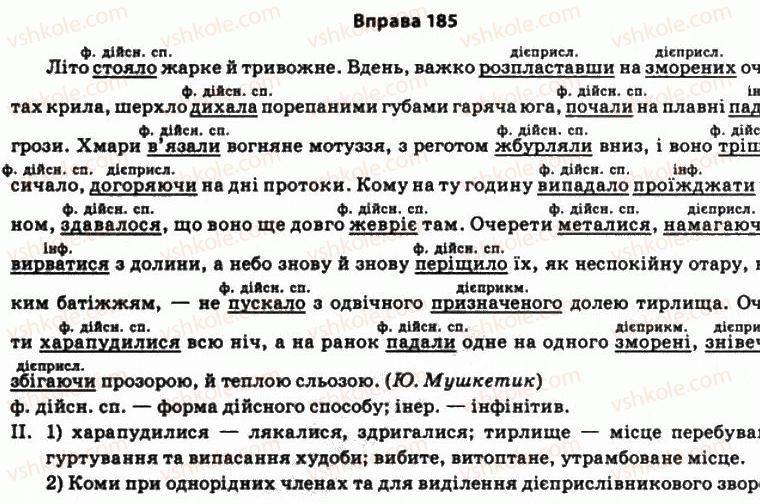 мова с караман о о в 11 гдз українська клас