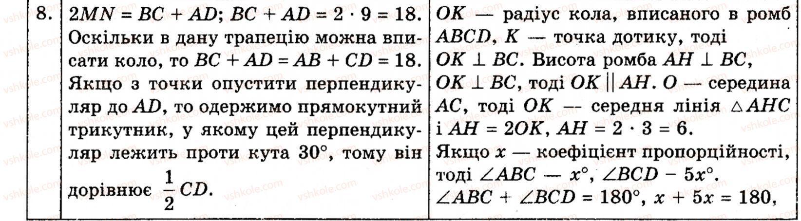 Геометрії класу для з гдз г.п.бевз 7