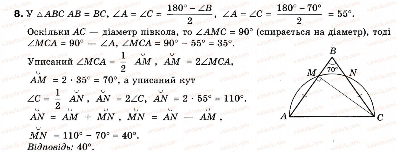 клас на гдз геометрії з 9