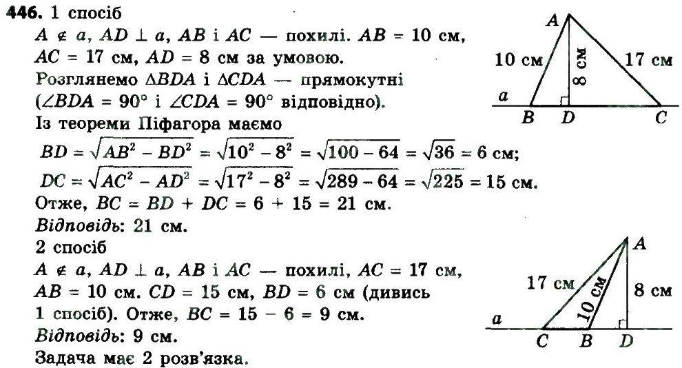 клас 2019 з геометрії єршов гдз 8