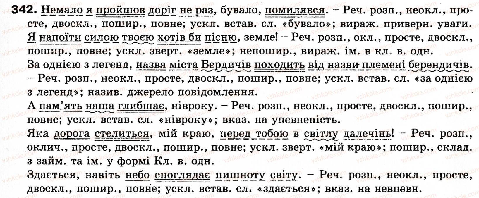 Глазова укр мова гдз 2007