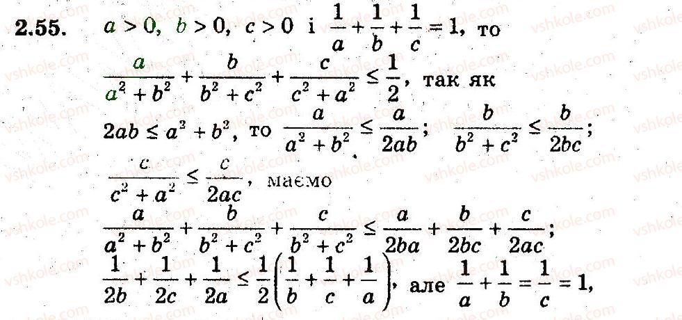алгебре клас 9 вивченням мерзляк гдз поглибленим полонський якір гдз по з