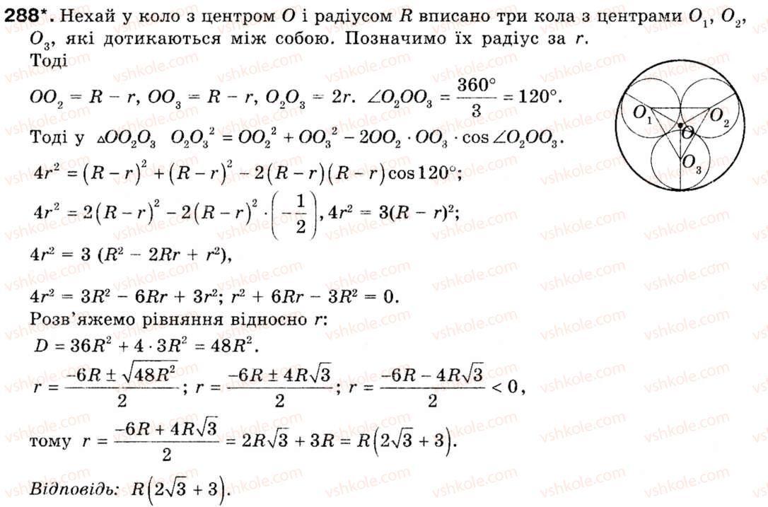 Гдз по геометрии 9 класс бурда и тарасенкова