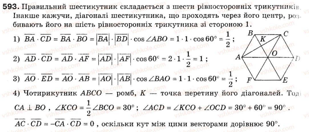 Гдз геометрия 9 класс а. г. мерзляк