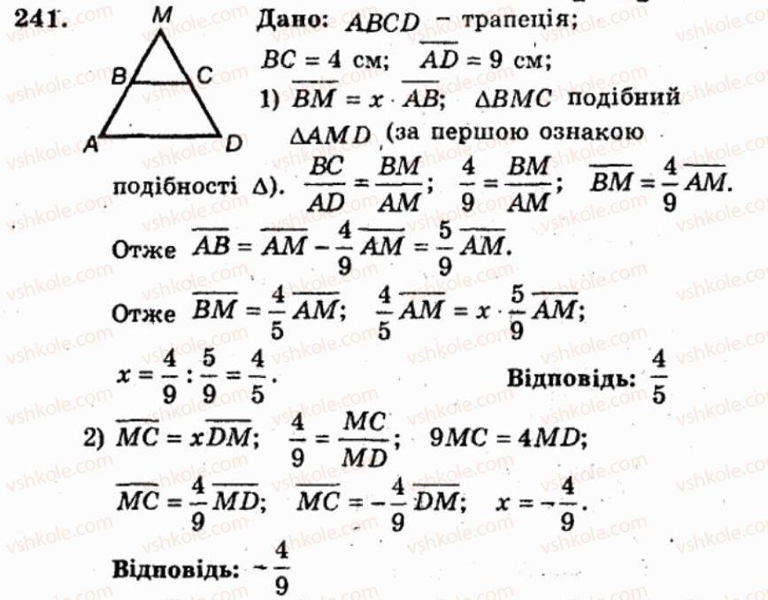 Гдз Збірник Мерзляка 9 Класс