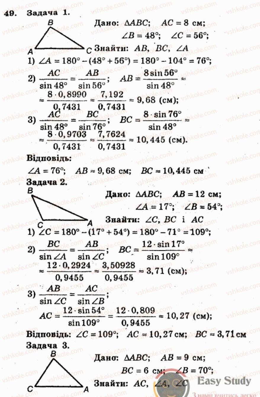 Гдз 8 Клас Збірник Задач І Контрольних Робіт З Геометрії