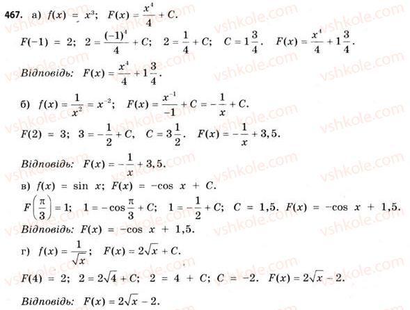 клас бевз математика11 гдз