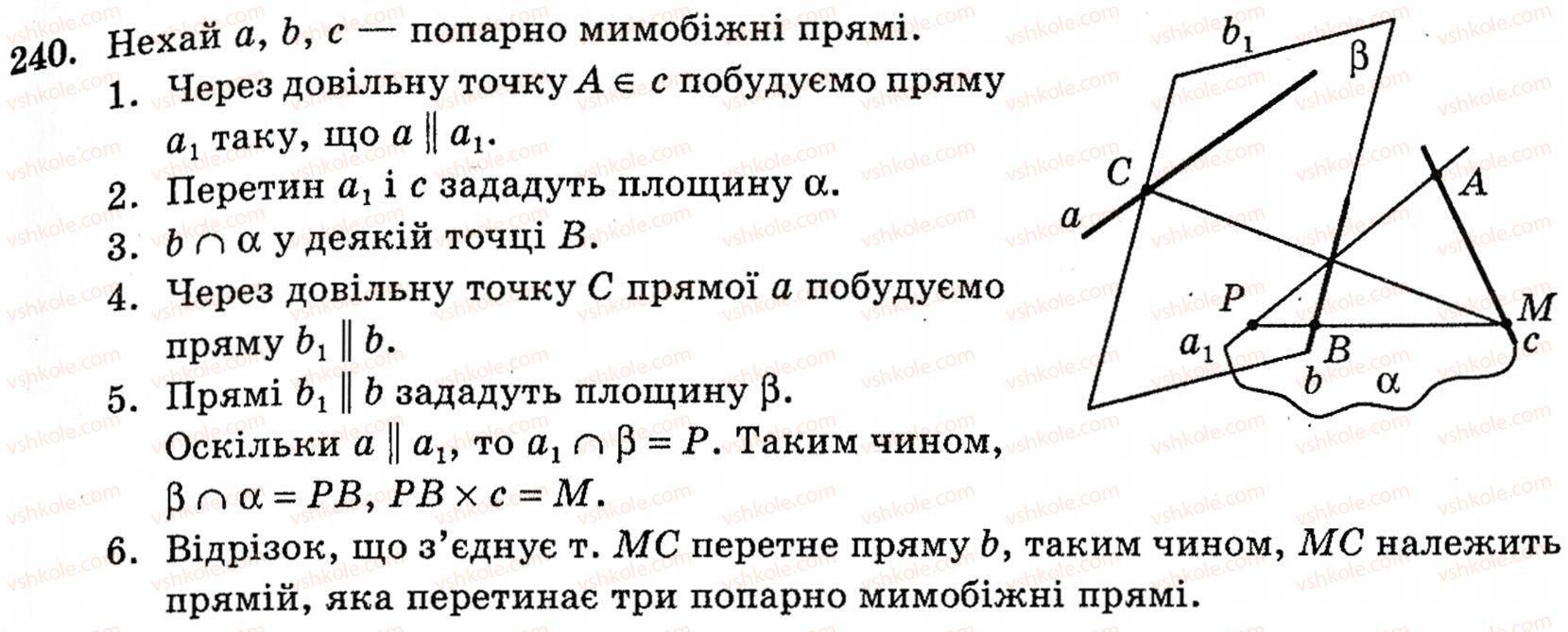 До геометрії з клас збірника гдз 10