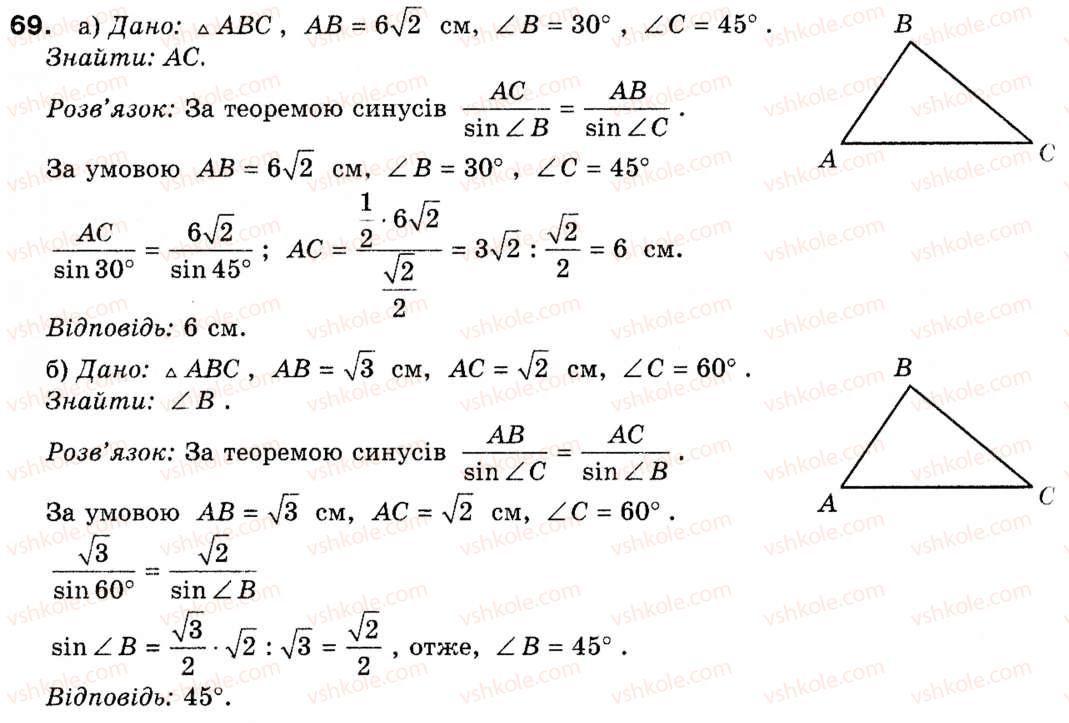 по геометрии теореме по гдз